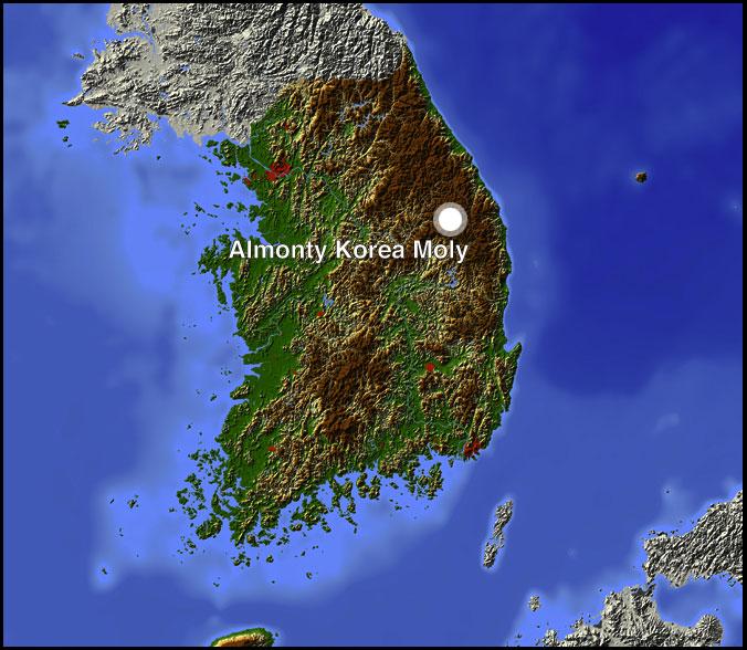 Almonty Korea Moly