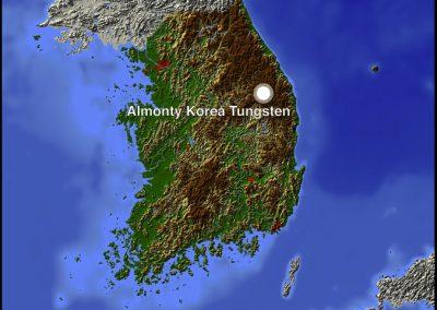 Almonty Korea Tungsten