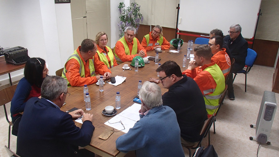 OeKB and KFW bank visit to Panasqueira mine 23-25 October 2019 With local authorities