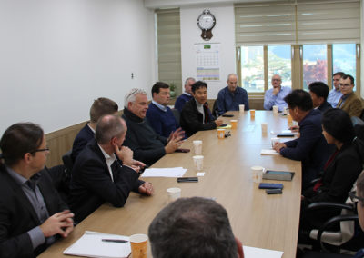 OeKB and KFW Bank Visit to Sangdong Mine