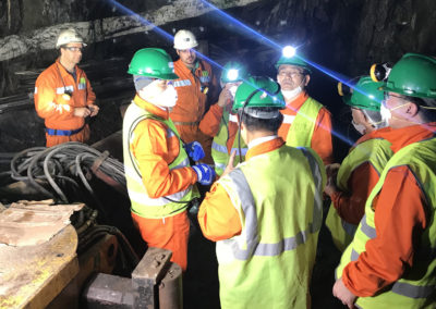 Congressmen of Yeongwol County (Korea) Visits Panasqueira Mine