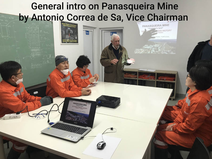 General introduction to Panasqueira Mine by Antonio Correa De Sa, Vice Chairman