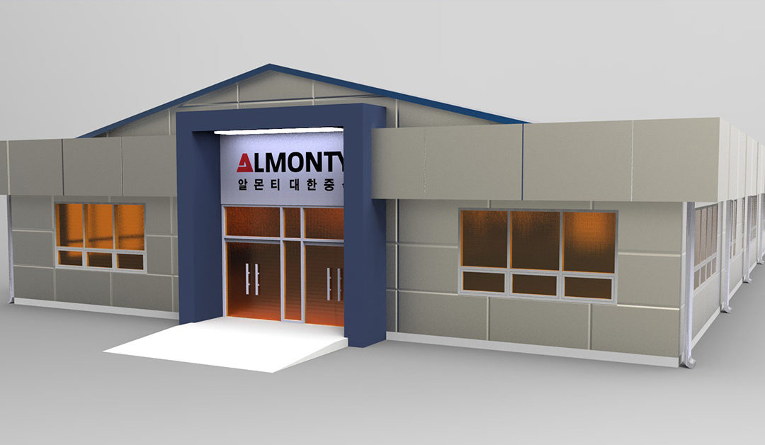 Almonty Korea Tungsten on track