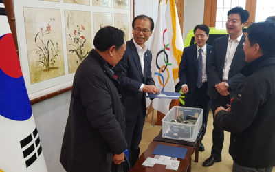 Governor Moon-Soon Choi Expresses Support For One Of South Korea's Most prestigious Projects