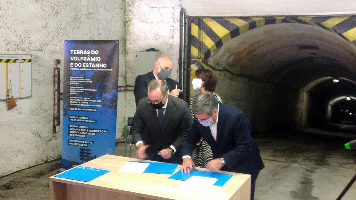 Unterzeichnung - Panasqueira Mine