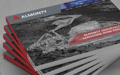 Investor Presentation – Almonty Industries & Sangdong Mine Project
