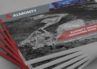 Investor Presentation – Almonty Industries & Sangdong Mine Project