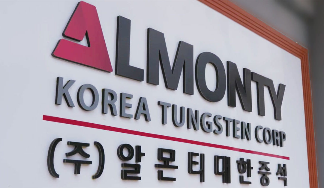 Almonty Announces The Commencement Of Its Corporate And Board Restructuring To Shift Its Focus Toward Korea