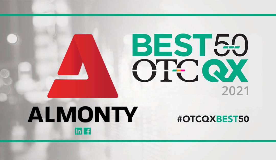 Almonty Industries Named to 2021 OTCQX Best 50