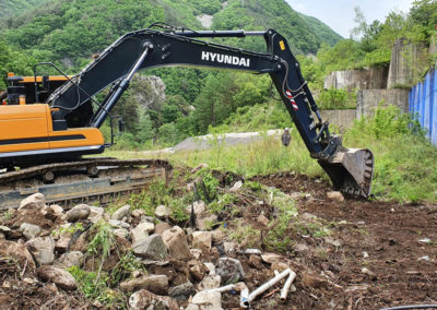 The Road & River Diversion Program is Underway at the Sangdong Mine Project in Korea