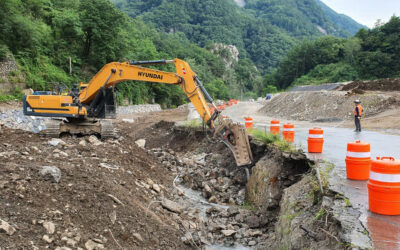 The Road & River Diversion Program Continues at the Sangdong Mine Project in Korea