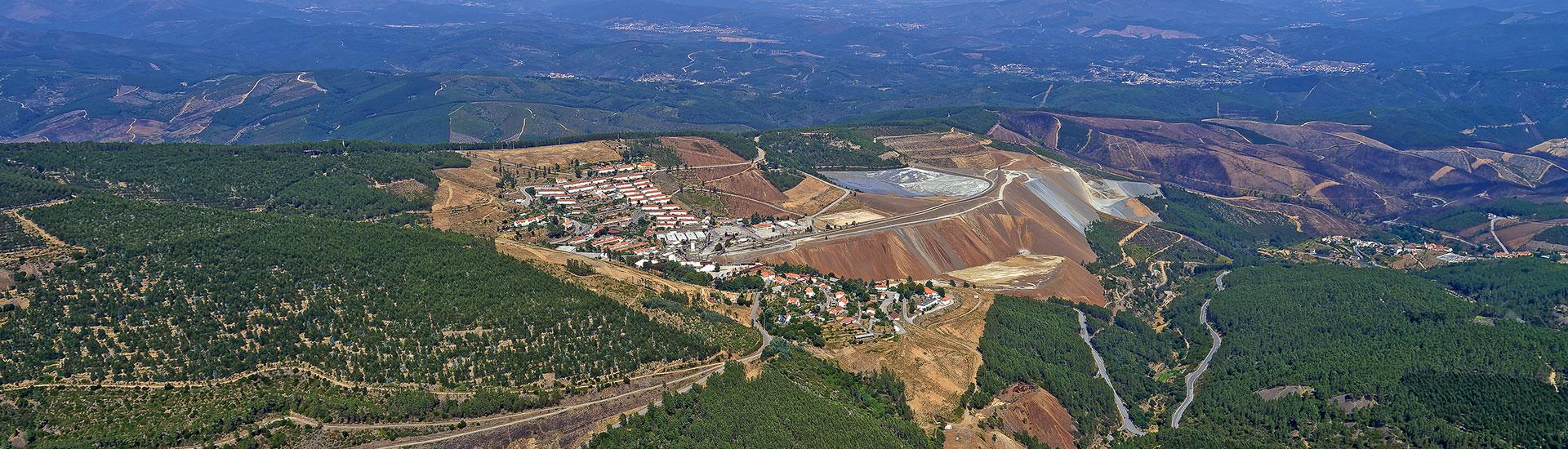 Panasqueira Tin Tungsten Mine